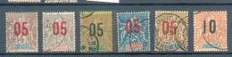 DAH 271 - YT 34-35-36-37-38-39 Obli - Dahome (1899-1944)