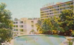 Acapulco Mexico - Alberca Del Hotel Astoria - 2 Scans - Mexico