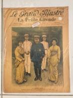 Le Grand Illustré 18/09/1904 Le Maréchal Oyama Chef Japonais Soldat Combattant Militaria Guerre Sous Plastique - Documents Historiques