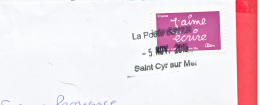 France . 2016 Obliteration Manuelle St Cyr Sur Mer - 05.11.16 - 1961-....