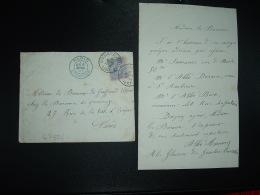 LETTRE Pour FRANCE TP 25 OBL.6 MARS 1887 GOSSELIES à BARONNE DE GRAFFENRIED VILLARD Chez BARONNE DU QUESNOY à PARIS - Belgique