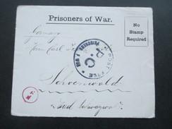 Kriegsgefangenlager / Prisoner Of War Post 1. WK POW  Camp Islington (London) Brief Mit Inhalt!! - Brieven En Documenten