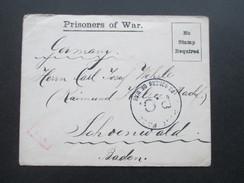 Kriegsgefangenlager / Prisoner Of War Post 1. WK POW  Camp Islington (London) 4. / 304 Brief Mit Inhalt!! - Brieven En Documenten