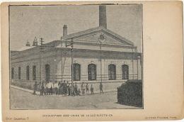 San José Uruguay Usina De La Luz Electrica Edit Figueroa Fot Chamfrau Undivided Back Before 1903 Usine Electrique - Uruguay