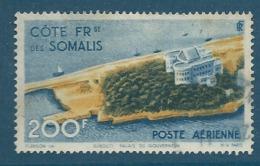 Cote Des Somalis - Aérien - Yvert N°22 Oblitéré -  Ava 148 01 - Usati