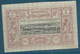 Cote Des Somalis   - Yvert N°   7 *    Ava 148 18 - Unused Stamps