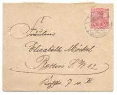 Thorn Schiessplatz 1901 Nach Berlin - Brief Ohne Inhalt - Deutschland