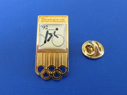 Pin´s Vélo - Jeux Olympiques Barcelone 1992 - Barcelona 92 (PG70) - Jeux Olympiques