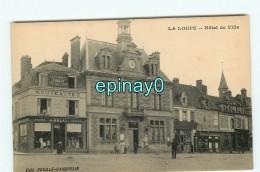 B - 28 - LA LOUPE - Hôtel De Ville  - édition Rouillé Cauquelin - La Loupe