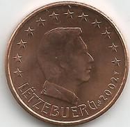Luxembourg 5 Cents 2002 Issue De Rouleau Neuf - Luxembourg