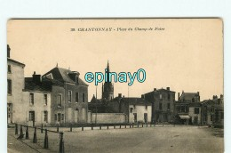 B - 85 - CHANTONNAY - Place Du Champ De Foire - édition Poupin - Chantonnay