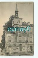 B - 95 - MARGENCY - La Mairie - RARE Et INCONNUE VISUEL  - édition C.L.C - Publicité Chocolat Vinay - Autres Communes
