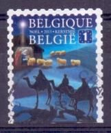 """België - 2013 -  OBP -  4382 - Europa - Gestempeld """"Kerstzegels"""" - Belgique"""