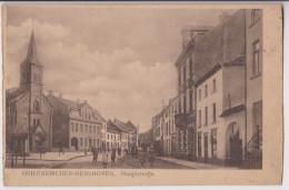 GEILENKIRCHEN - HUNSHOVEN : HAUPTSTRASSE - ECRITE 1919 - 2 SCANS - - Geilenkirchen