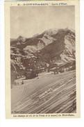 37544 ( 2 Scans ) ST GERVAIS LES BAINS SPORTS D'HIVER - Les Champs De Ski De La Venaz Et Le Massif Du Mont-blanc - Saint-Gervais-les-Bains