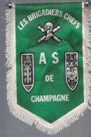 BLASON LES BRIGADIERS CHEFS AS DE CHAMPAGNE - Ecussons Tissu
