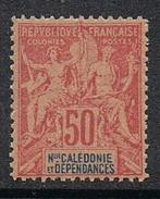 NOUVELLE-CALEDONIE N°51 N** Fournier - Neukaledonien