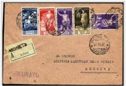 Italia/Italy/Italie, Lettera Assicurata, Lettre Avec Valeur Déclarée, Insured Letter, Empereur Auguste, Emperor Augustus - 1900-44 Victor Emmanuel III.