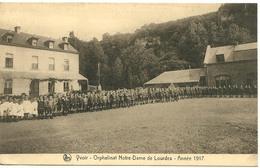 Yvoir Orphelinat Notre Dame De Lourdes Année 1917 - Yvoir