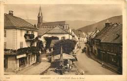90 - GIROMAGNY - LA GRAND RUE  - ROUTE DU BALLON - 1622 - Giromagny