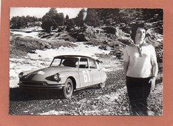 CLAUDINE VANSON 1960  CITROËN ID 19 - Rallyes