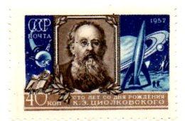 MISS4 - RUSSIA URSS 1957 ,  Tsiolkovshi * Spazio / Anno Geofisico - Nuovi