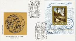 Rumänien / Romania - MI-Nr Block 121 FDC (w684) - FDC