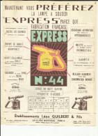 """75 - Paris - Ets. L.guilbert - 10 Rue Montlouis - 11e-Lampes à Souder """" Express """" Illustrations - Réf.01 - Publicités"""