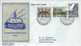 Dänemark / Danmark - MI-Nr 592/594 FDC (w687) - 1971-80