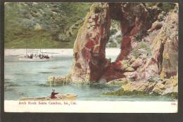 Santa Catalina,Isl. Cal. Arch Rock. Franking 2x Scott No. 328 - Otros