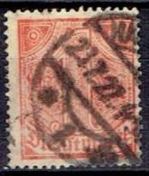 GERMANY #  FROM 1920  STANLEY GIBBONS O133 - Dienstpost