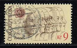 Tschechische Republik 1995, Michel# 76 O Europa C.E.P.T.1994 - Peace And Freedom - Tschechische Republik