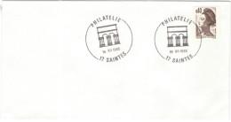 FRANCIA - France - 1985 - 0,40 Liberté De Delacroix - Philatélie - Saintes - Cachet Ronde Manuel - Bolli Manuali