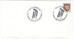 FRANCIA - France - 1984 - 50c Armoiries De Limousin - Philatélie - Tulle Recette - Cachet Ronde Manuel - Storia Postale