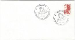 FRANCIA - France - 1983 - 0,10 Liberté De Delacroix - Philatélie - Besancon Proudhon - Cachet Ronde Manuel - Marcophilie (Lettres)