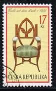 Tschechische Republik 2002, Michel# 341 O Furniture: Czech Art Deco, Armchair, 1923 - Czech Republic