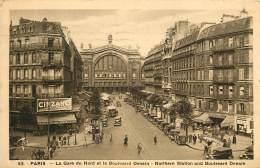 PARIS   GARE DU NORD    BOULEVARD DENAIN - Arrondissement: 10