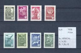USSR 1976 - YT 4329/36 Postfris/neuf/MNH - 1923-1991 USSR