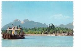 Canada Haney Albion Fort Langley Ferry Bateau Bac Cachet 1972 - Colombie Britannique
