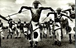 CONGO BELGE - RUANDA URUNDI. DANSEURS WATUSIS - Congo Belga - Otros