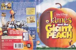 Dvd Zone 2 James And The Giant Peach James Et La Pêche Géante 1996 Walt Disney - Animatie