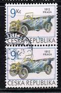 Tschechische Republik 1994, Michel# 55 O     Historical Vehicles: PRAGA GRAND OF 1912 - Gebraucht