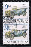 Tschechische Republik 1994, Michel# 55 O     Historical Vehicles: PRAGA GRAND OF 1912 - Tschechische Republik