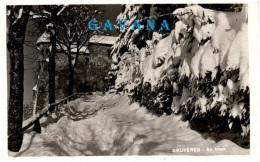 FR GRUYERES - En Hiver - FR Fribourg