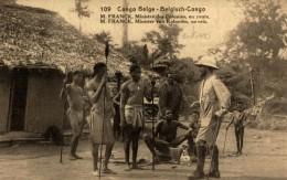 CONGO BELGE - M. FRANCK, Ministre Des Colonies En Route. - Congo Belga - Otros