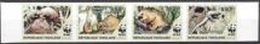 Togo 2010,  WWF, Phataginus Tricuspides, 4val IMPERFORATED - Unused Stamps