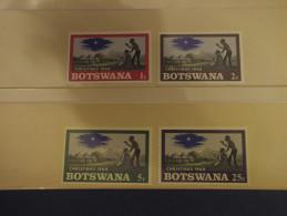 BOTSWANA - 1968 NATALE 4 VALORI - NUOVI(++) - Botswana (1966-...)