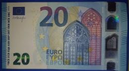 6x 20 EURO S007 SA+SB+SC+SD+SE+SF Draghi Italy Perfect  UNC - EURO