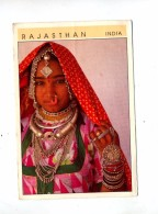 Carte Femme  Du Rajasthani Cachet - India