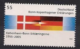 2005 Allem Fed. Yv. 2274  Mi.. 2449** MNH .   Bonn - Kopenhagen - Joint Issues